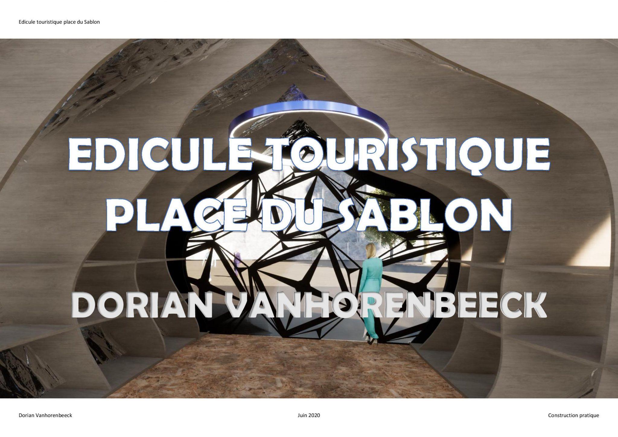 Dorian Vanhorenbeeck Edicule touristique Sablon-page-001